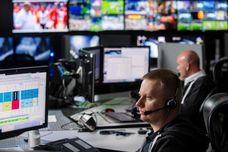 Teleport Paris-Rambouillet firmy Eutelsat