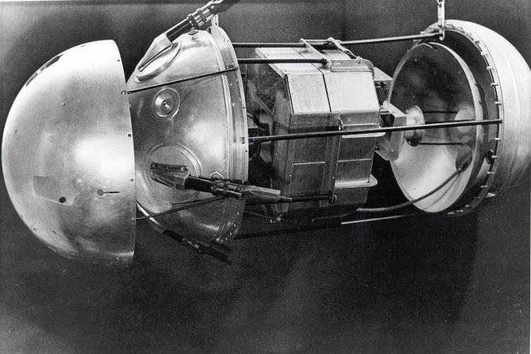 Budowa wewnętrzna Sputnika